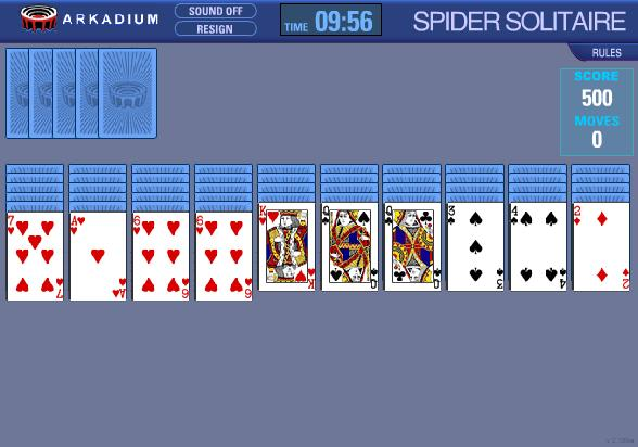 descargar juegos de cartas solitario spider gratis
